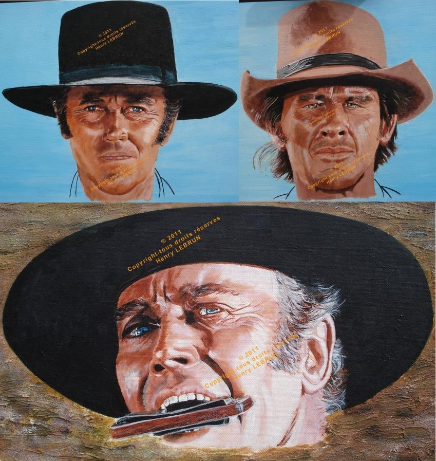 Charles Bronson, Henry Fonda by lhommeloiret